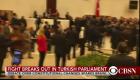 Bataie cu pumni si picioare in Parlamentul Turciei VIDEO