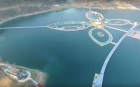 Chinezii au construit cel mai lung pod plutitor din lume VIDEO