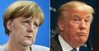 "Merkel și Trump, intalnire ""de gradul trei"""