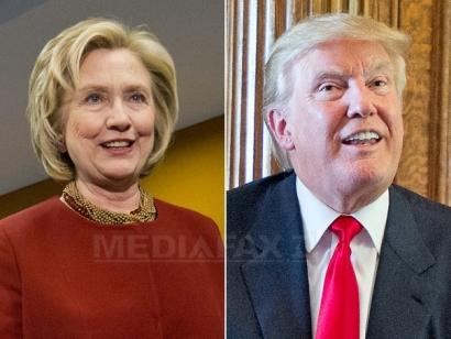 """Trump, atac la Clinton la un dineu caritabil: """"E prima dată când ţine un speech fără să fie plătită"""""""