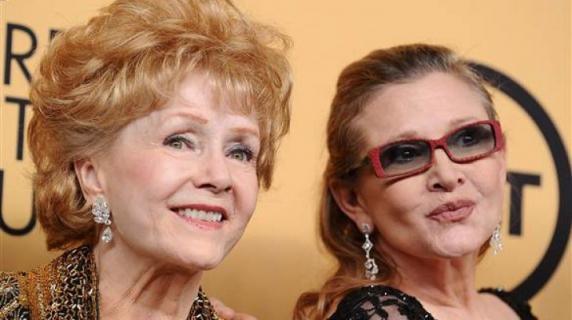 Actrița Debbie Reynolds a murit la o zi după decesul fiicei sale, Carrie Fisher