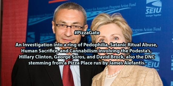 Scandalul PizzaGate face ravagii in Statele Unite. Hillary Clinton si John Podesta in epicentrul cutremurului de presa