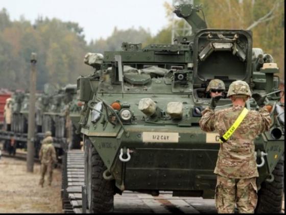 SUA se pregateste de razboi. Pentagonul trimite echipament militar in Romania